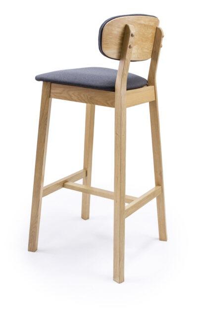Бар стол от масив бук или дъб - 1370B