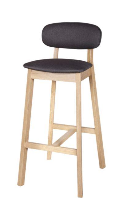 Масивен бар стол от бук или дъб - 1370B