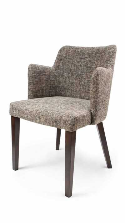 Solid wood armchair made of beech - 1386A