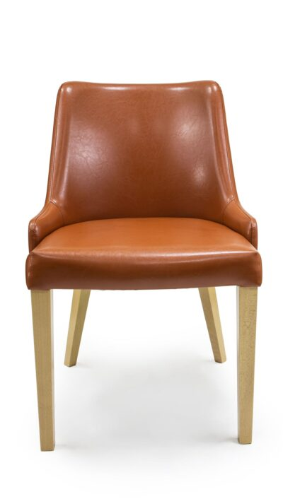 Solid wood armchair made of beech - 1387A