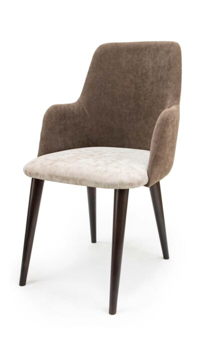 Solid wood armchair made of beech - 1390A