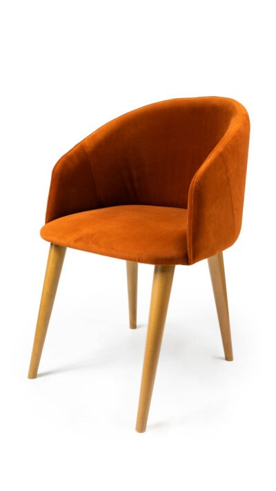 Solid wood armchair made of beech - 1397A