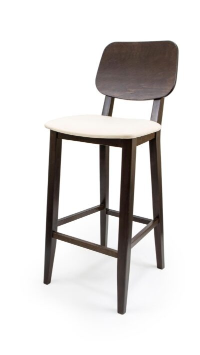 Solid Wood Barstool Made of Oak - 1307B