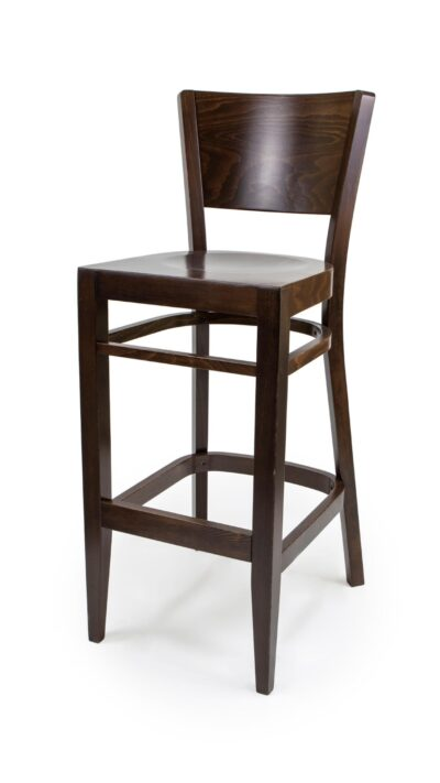 Solid Wood Barstool made of Oak - 1313B