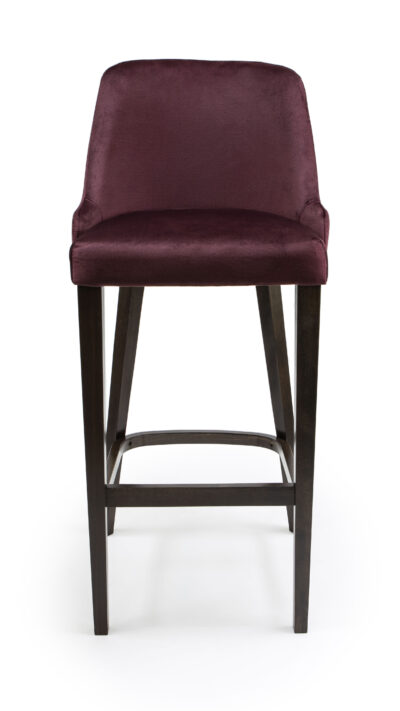 Solid Wood barstool made of Beech - 1387B