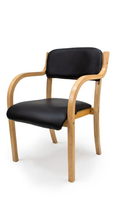 Solid wood armchair made of Beech or Oak - 1401A