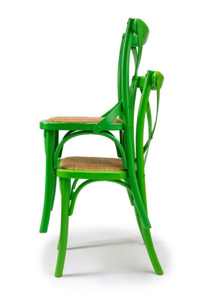 Solid Wood Chair made of Beech or Oak - 1341S - Stackable