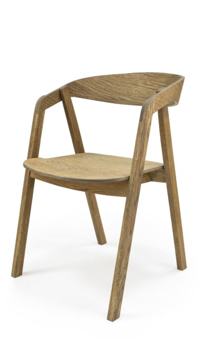 Solid Wood Chair made of Beech or Oak - 1392S`